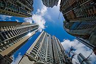 Vista  la construccion de un edificio en la  ciudad de Panama. Edificada frente a la golfo de Panamá, actualmente cuenta con una construcción de grandes edificios modernos, corredores viales y  centros comerciales.  .Foto: Ramon Lepage / Istmophoto...
