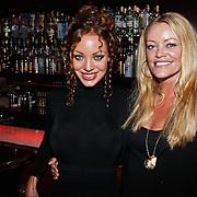 NLD/Amsterdam/20101008 - Onthulling Playboy cover Sanne Kraaijkamp, Dorien Rose Duinker en Inge de Bruijn