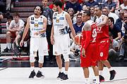Guterriez Jorge delusione, EA7 EMPORIO ARMANI OLIMPIA MILANO vs DOLOMITI ENERGIA TRENTINO, gara 2 Finale Play off Lega Basket Serie A 2017/2018, Mediolanum Forum, Assago (MI) 7 giugno 2018 - FOTO: Bertani/Ciamillo