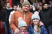 Grimsby Town fans during the EFL Sky Bet League 2 match between Grimsby Town FC and Port Vale at Blundell Park, Grimsby, United Kingdom on 10 March 2018. Picture by Mick Atkins.