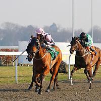 Lastkingofscotland and George Baker winning the 2.30 race