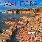PRODUCT: Calendar<br /> TITLE: Manitoba Wall 2019<br /> CLIENT: Wyman Publications / Browntrout Canada