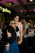 TWIGGY AND ERIN O'CONNOR, The private view of exhibition 'The House of Viktor & Rolf', at The Barbican Gallery.  London.  June 17 2008. *** Local Caption *** -DO NOT ARCHIVE-© Copyright Photograph by Dafydd Jones. 248 Clapham Rd. London SW9 0PZ. Tel 0207 820 0771. www.dafjones.com.