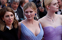 Sofia Coppola, Kirsten Dunst and Nicole Kidman at The Beguiled gala screening at the 70th Cannes Film Festival Wednesday 24th May 2017, Cannes, France. Photo credit: Doreen Kennedy
