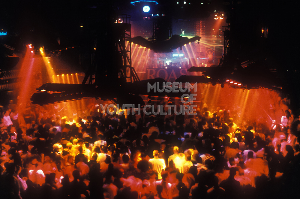 Crowds on the dancefloor, Roast, UK 1996