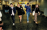 Clubbers Returning from Ibiza, Gatwick 1998