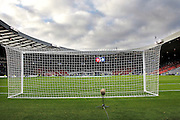 Hampden is ready for the Betfred Scottish Cup  Final match between Aberdeen and Celtic at Hampden Park, Glasgow, United Kingdom on 27 November 2016. Photo by Craig Galloway.