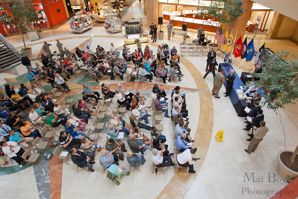 The New Jersey Distinguished Service Medal ceremony held in the Deptford Mall on Tuesday September 6, 2011.