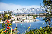 Scenic Lake Mission Viejo in Southern California