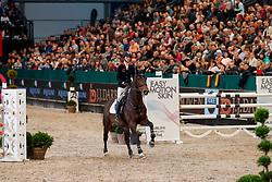 BRINKOP Kendra Claricia (GER), Dancing Queen Z<br /> Leipzig - Partner Pferd 2018   <br /> Internationale Zeitspringprüfung Preis des Stern Auto Center<br /> © www.sportfotos-lafrentz.de/Stefan Lafrentz