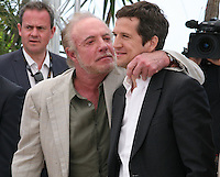 Actor James Caan and Director Guillaume Canet at the Blood Ties film photocall at the Cannes Film Festival Monday 20th May 2013