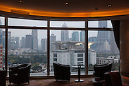 China, Shanghai. view from the meridien