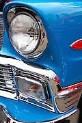 Vintage Blue Classic Car