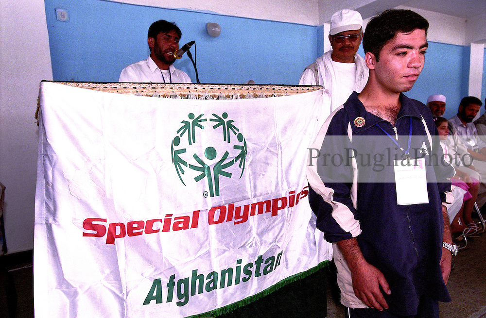 SPECIAL OLYMPICS AFGHANISTAN..KABUL 25 August 2005