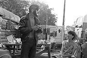 Clown man, Glastonbury, 1993.