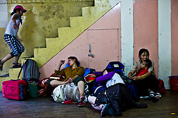 INDIA - Life in Exile (Tibetan Refugees)<br /> Tibetan refugees are seen at Reception Center, a temporary shelter for newly arrived Tibetan refugees in McLeod Ganj, Dharamsala, India, where the Dalai Lama settled after fleeing Tibet in 1959 after a failed uprising against Chinese rule, June 3, 2009.
