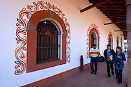 Along the arcaded streets of San Ignacio de Velasco