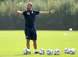 Marcus Stewart assistant manager of Bristol Rovers oversees training - Mandatory by-line: Robbie Stephenson/JMP - 15/09/2016 - FOOTBALL - The Lawns Training Ground - Bristol, England - Bristol Rovers Training