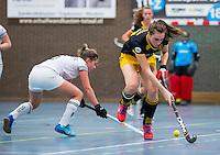 BARNEVELD - Hoofdklasse zaalhockey dames. Den Bosch-Rotterdam (1-0). Marlies Verbruggen (Den Bosch) COPYRIGHT KOEN SUYK