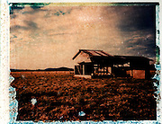 Old Dairy - Polaroid transfer