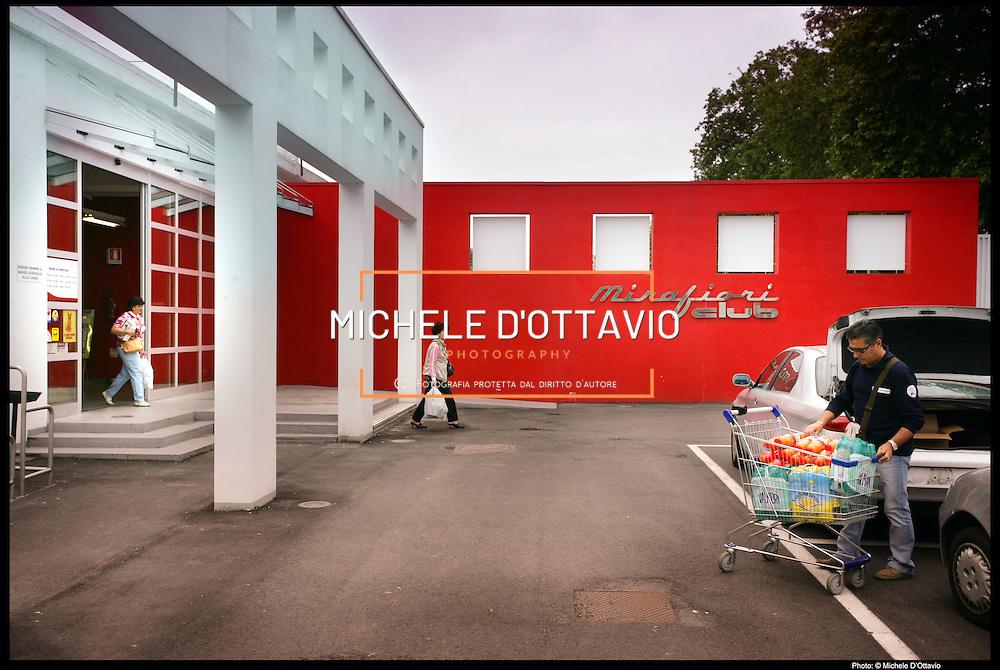 Fiat Mirafiori supermercato aziendale all'interno dello stabilimento