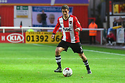Craig Woodman (3) of Exeter City during the EFL Sky Bet League 2 play off second leg match between Exeter City and Carlisle United at St James' Park, Exeter, England on 18 May 2017. Photo by Graham Hunt.