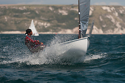 August 2011Olympic Test Event 2011 Weymouth Great Britain, Finn Racing in the bay of Weymouth Racing in the bay of Weymouth