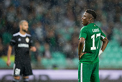 Abass Issah of NK Olimpija Ljubljana during 1st Leg football match between NK Olimpija Ljubljana (SLO) and Qarabag FK (AZE) in First qualifying round of UEFA Champions League 2018/19, on July 11, 2018 in SRC Stozice, Ljubljana, Slovenia. Photo by Urban Urbanc / Sportida