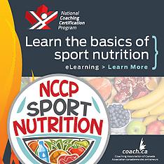 NCCP Sport Nutrition / Nutrition sportive du PNCE