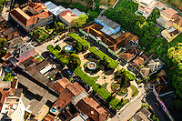 Santa Teresa - Espirito Santo - Vista Aerea da Praça Augusto Ruschi na Cidade de Santa Teresa - Foto: Gabriel Lordello/Mosaico Imagem