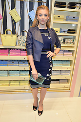 NATALIE DORMER at the opening party of the new Kate Spade New York store at 182 Regent Street, London on 21st April 2016.