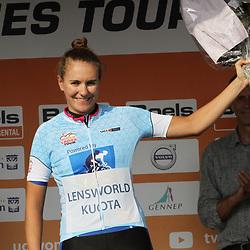 03-09-2017: Wielrennen: Boels Ladies Tour: Sittard: Sprint winnares Winanda Spoor