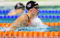 04-04-2015 NED: Swim Cup, Eindhoven<br /> Moniek Nijhuis, 50m school<br /> Photo by Ronald Hoogendoorn / Sportida