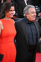 Isabelle de Araujo and Christian Clavier at The Immigrant film gala screening at the Cannes Film Festival Friday 24th May May 2013