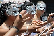 Estudiantes de centros escolares de ahuchapan participan en los defiles escolares Sabado SEPT 15, 2012 duarante la conmemoracion de los 191 Aniversario de la indepencia. Photo: Wilton Castillo/Imagenes Libres.