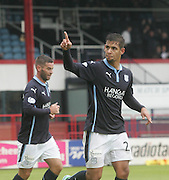 Dundee's Luka Tankulic celebrates after completing the scoring - Dundee v Peterhead, League Cup at Dens Park<br /> <br />  - &copy; David Young - www.davidyoungphoto.co.uk - email: davidyoungphoto@gmail.com