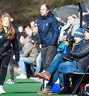 BLOEMENDAAL - coach Teun de Nooijer (Bldaal) hoofdklasse competitie dames, Bloemendaal-Nijmegen (1-1) COPYRIGHT KOEN SUYK