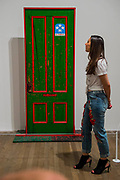Fred Hamptons Door 2 1975 by Dana C Chandler - Soul of a Nation: Art in the Age of Black Power, Tate Modern's new exhibition exploring what it meant to be a Black artist during the Civil Rights movement.  The exhibition is at Tate Modern from 12 July – 22 October 2017.