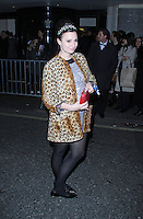 Gizzi Erskine, The BRIT Awards 2014 - Warner Music After Party, The Savoy, London UK, 19 February 2014, Photo by Brett D. Cove