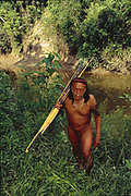 Yaminahua Indian with Bow & Arrow<br />