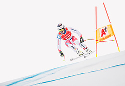 27.01.2019, Streif, Kitzbühel, AUT, FIS Weltcup Ski Alpin, SuperG, Herren, im Bild Gilles Roulin (SUI) // Gilles Roulin of Switzerland in action during his run in the men's Super-G of FIS ski alpine world cup at the Streif in Kitzbühel, Austria on 2019/01/27. EXPA Pictures © 2019, PhotoCredit: EXPA: Johann Groder