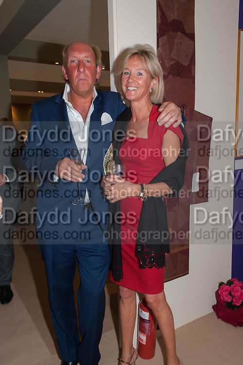 LORD DAVENTRY; ; THE DUCHESS OF ROXBURGH; , Art Antiques London Party in the Park in aid of JDRF, the Juvenile Diabetes Research Foundation. Kensington Gardens. London. 12 June 2012