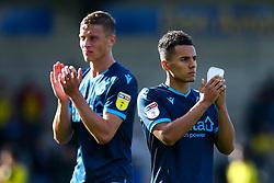 Tyler Smith of Bristol Rovers and Tom Davies of Bristol Rovers - Mandatory by-line: Robbie Stephenson/JMP - 31/08/2019 - FOOTBALL - Pirelli Stadium - Burton upon Trent, England - Burton Albion v Bristol Rovers - Sky Bet League One