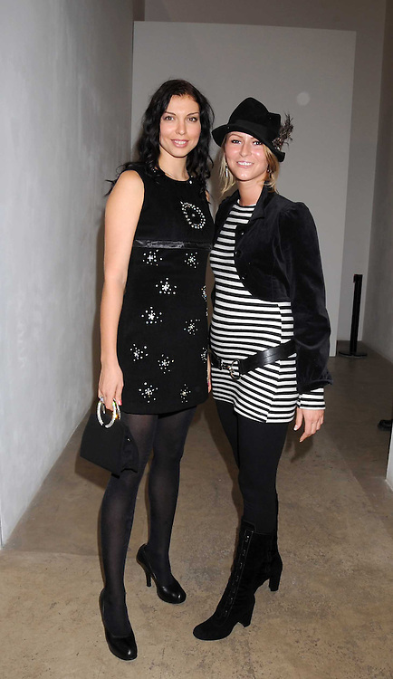 Left to right, Maria Chernoy and LALI WHISPER at the Quintessentailly Summer Party at the Phillips de Pury Gallery, 9 Howick Place, London on 9th July 2008.<br />