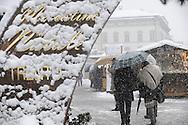 Mercatini di Natale in piazza Fiera a Trento, Dicembre 2010 © foto Daniele Mosna