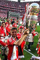 Joie Bryan Cristante - 23.05.2015 - Benfica / Maritimo - Liga Sagres <br /> Photo : Carlos Rodriguez / Icon Sport