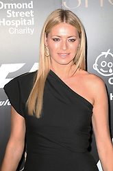 Tess Daly, F1 Party in aid of Great Ormond Street Hospital Children's Charity, Victoria and Albert Museum, London UK, 02 July 2014, Photo by Richard Goldschmidt © Licensed to London News Pictures. 03/07/2014