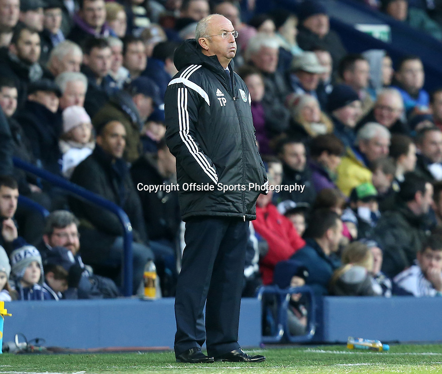 3rd January 2015 - FA Cup 3rd Round - West Bromwich Albion v Gateshead - New West Bromwich Albion head coach Tony Pulis looks exasperated during a poor 1st half - Photo: Paul Roberts / Offside.