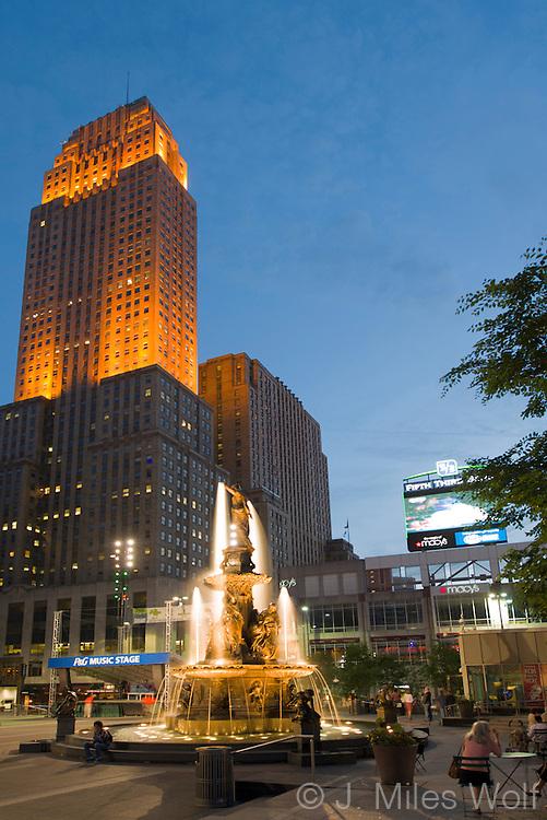 Tyler Davidson Fountain Cincinnati Ohio