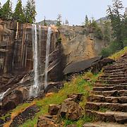 Vernal Falls Mist Trail - Autumn - Yosemite